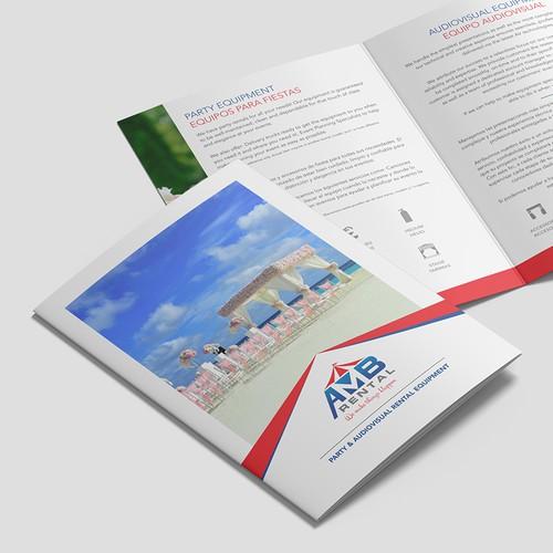 AMB Rental Tri-Fold A5 Brochure