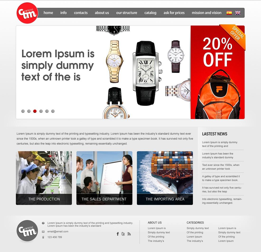 Help EmpresasCTM with a new website design