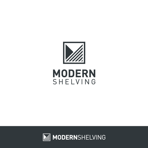 Modern Logo for Modern Shelving