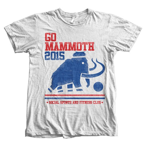 Retro Go Mammoth Tees