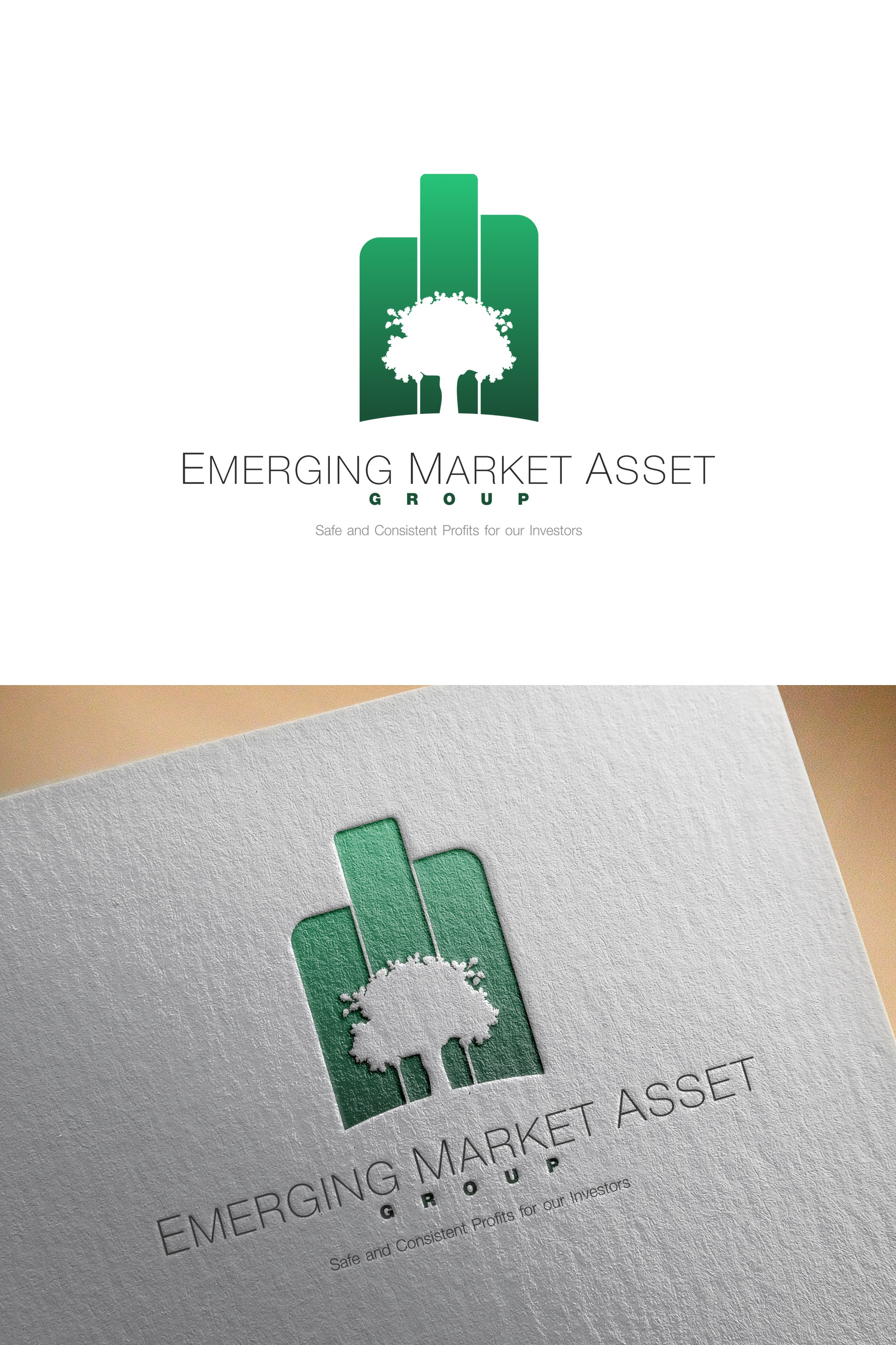 Create a Brand Identity Package for a Real Estate Investment Company