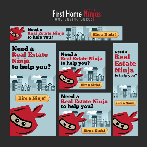 First Home Ninjas banner ads