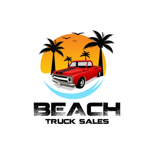 I am looking to sell a bunch of Jacked UP trucks at the beach.. Help me!