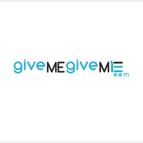 givemegiveme.com needs a new logo
