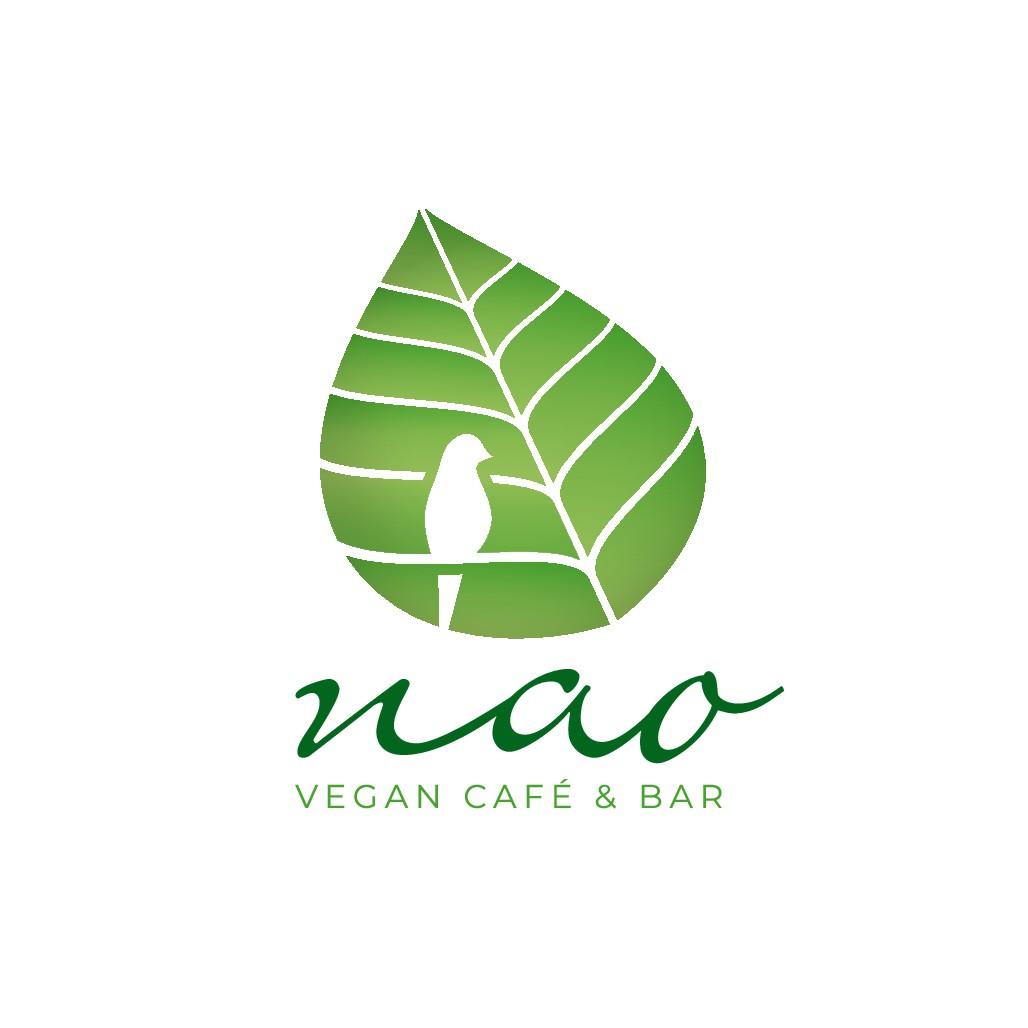 Gestalte ein Logo für ein veganes Café in Hamburg