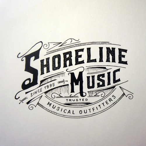 "Logo for ""Shoreline music"""