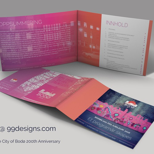 Create a standout report for The City of Bodø 200th Anniversary!