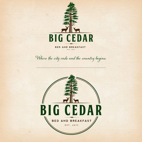 Logo for Big Cedar Bed and Breakfast