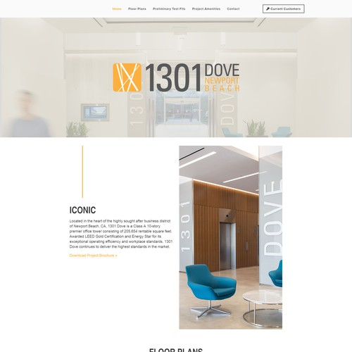 1301 Dove Commercial Property Website