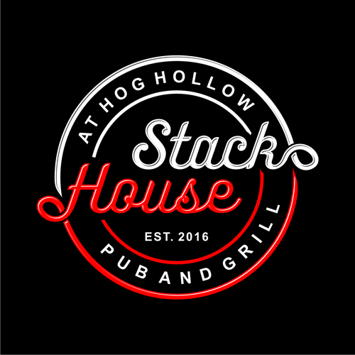 Stack House Logo - Typograph