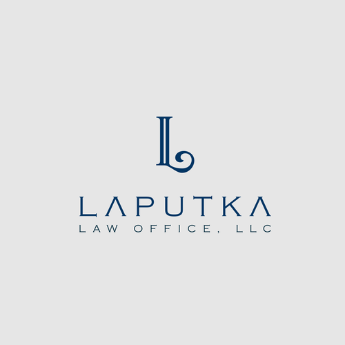 Create a professional and elegant logo for branding my law firm.