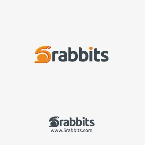 Logo design for 5rabbits.com