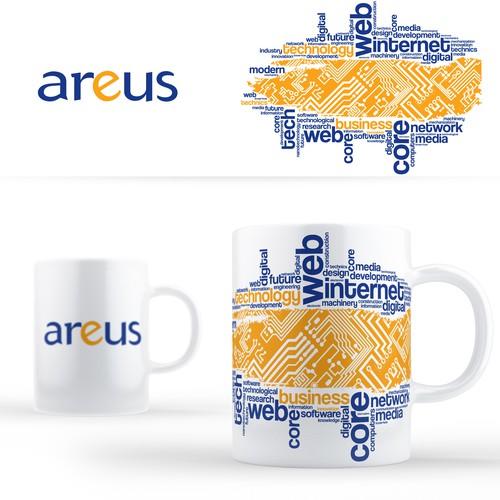 ArEus mug design