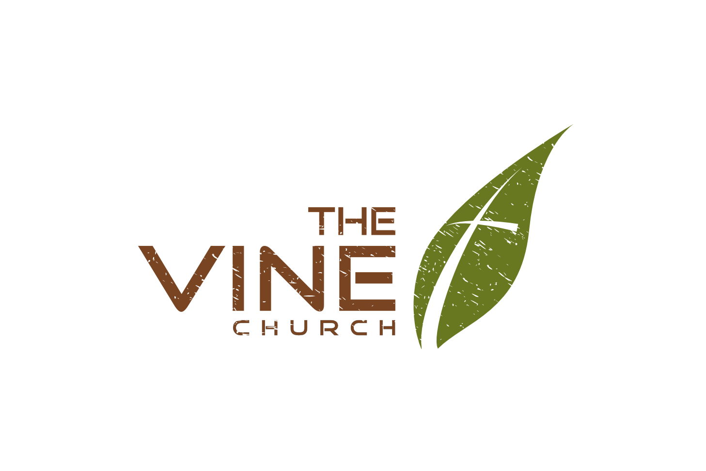 the Vine - Organic logo design for an organic church