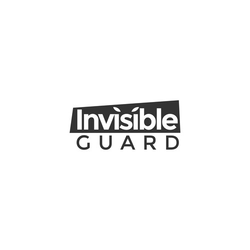 Bold logo for Invisible Guard