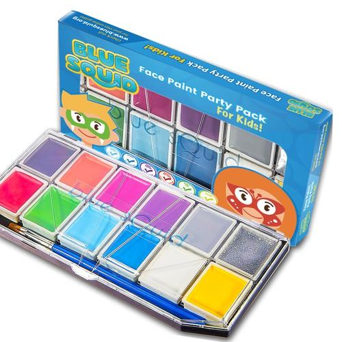 Package Design Concept for Children's Make Up Kit
