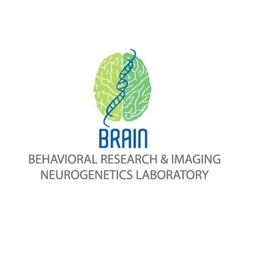 Create the next logo for Behavioral Research And Imaging Neurogenetics (BRAIN) Laboratory. BRAIN Lab.