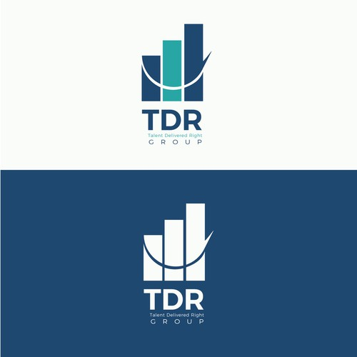 TDR Group logo design