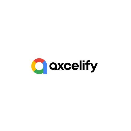 Axcelify Logo Design