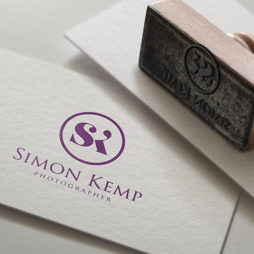 Bold logo concept for for UK wedding photographer