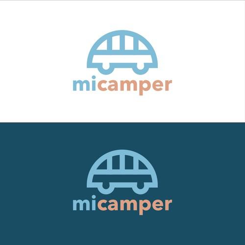 Proposed logo for Camper Co.