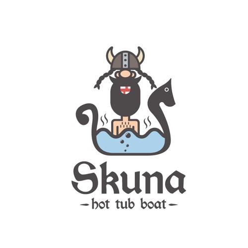 Skuna - hot tub boat