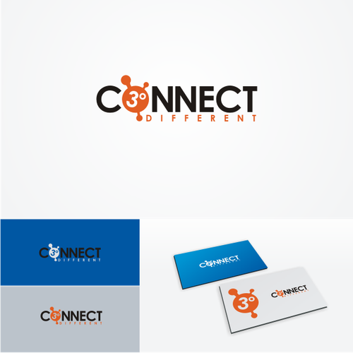 Create the next logo for Connect  3 ° Different