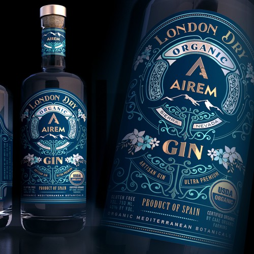 Organic London DRY AIREM Gin