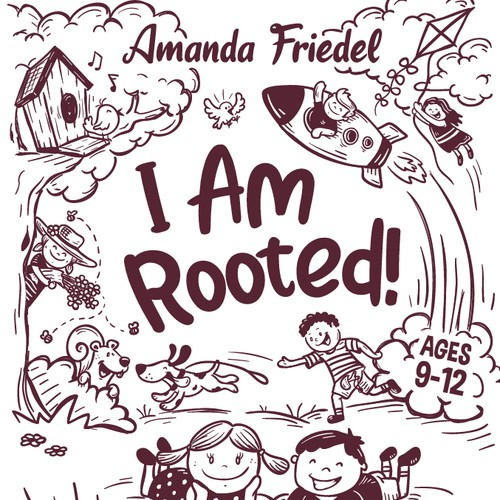 I Am Rooted book cover artwork