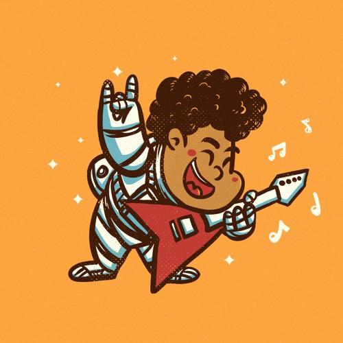 Space Guitarist