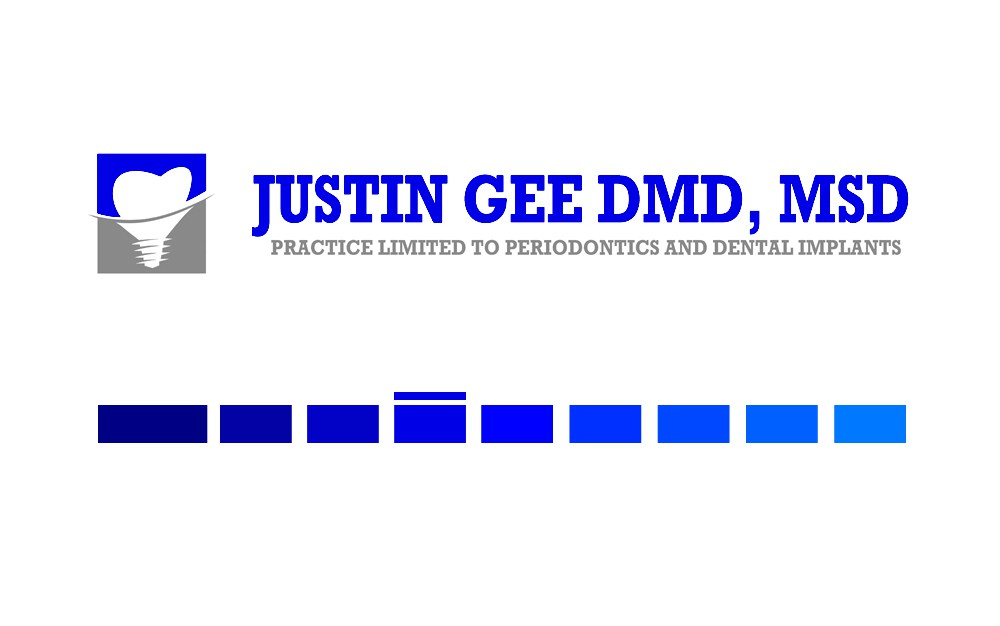 Create a modern and professional logo for specialty dental practice involving dental implant