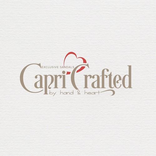 Logo concept per una azienda di sandali di Capri Italia