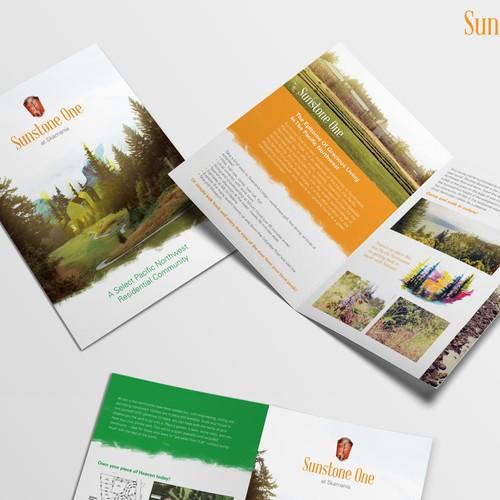 Brochure Design for Sunstone One Pacific