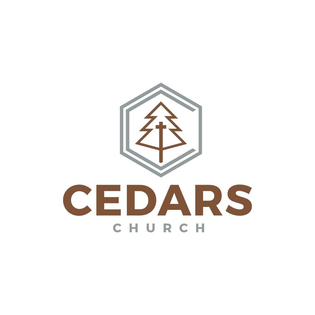 """Logo for new church launch """"Cedars Church"""""""