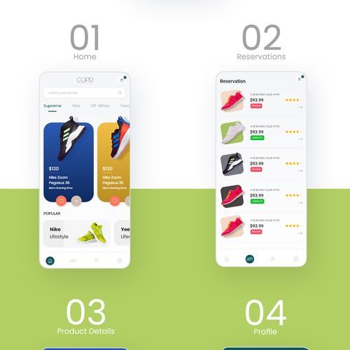 Sneaker Bot App