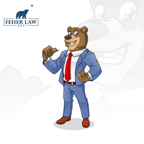 Mascot Design for Feher Law Firm