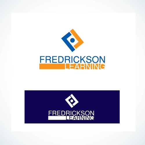 Fredrickson Learning logo design