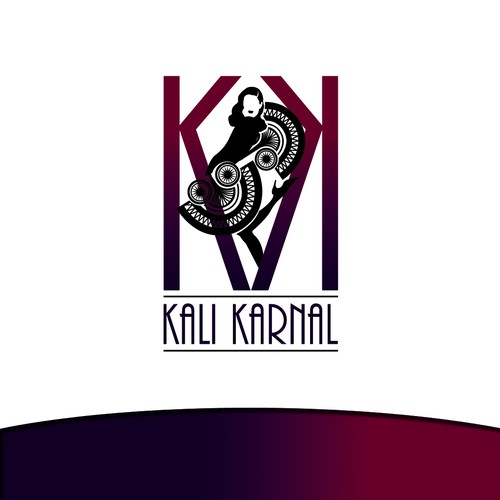Kali Karnal - Logo for Burlesque/Vintage Clothing Boutique