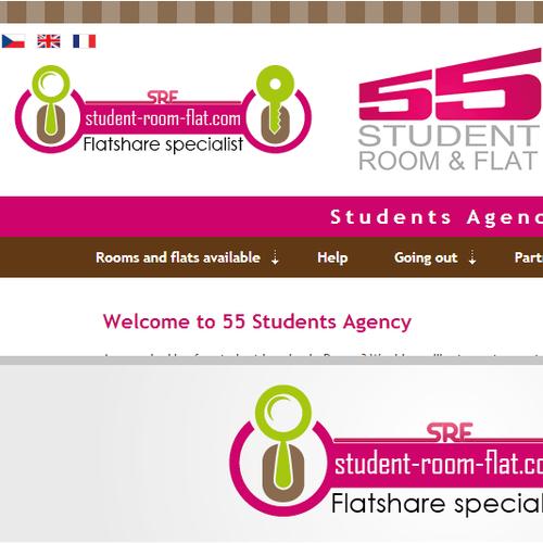 student-room-flat.com a besoin d'un nouveau logo