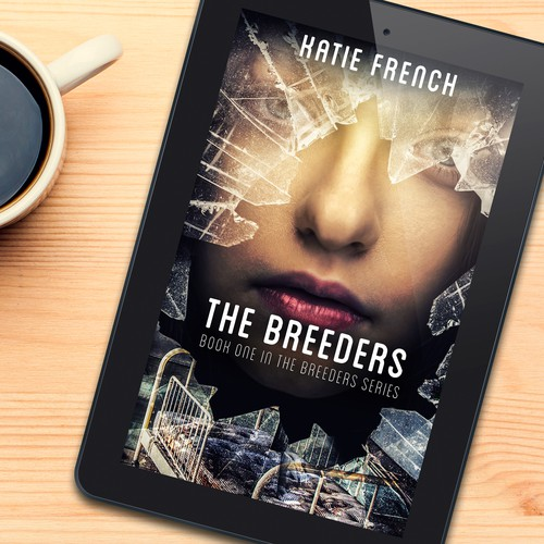 Book cover design for The Breeders