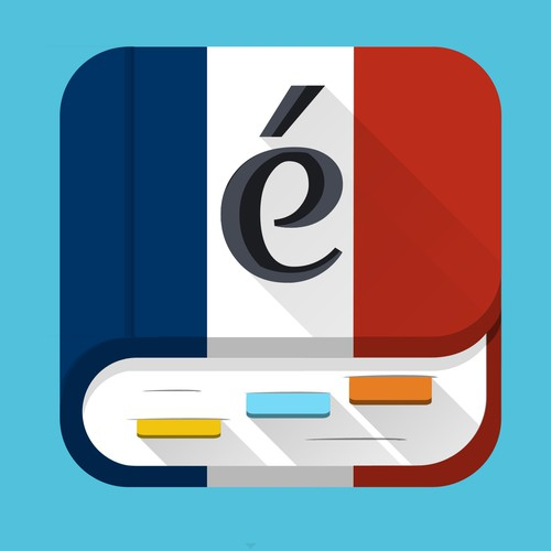 Icon for educational (French verbs) iPhone app