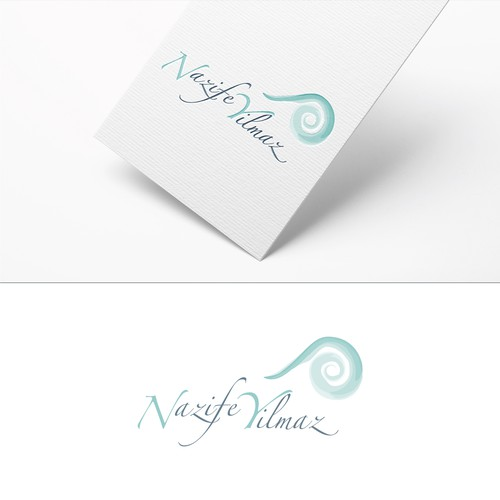 Modern design concept of a logo for a psychotherapist