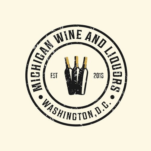 D.C. Wine and Spirits Store: needs a strong new logo