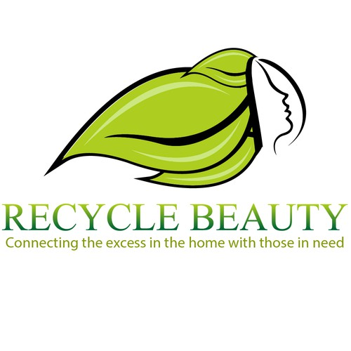 Create a clean simple recycling logo