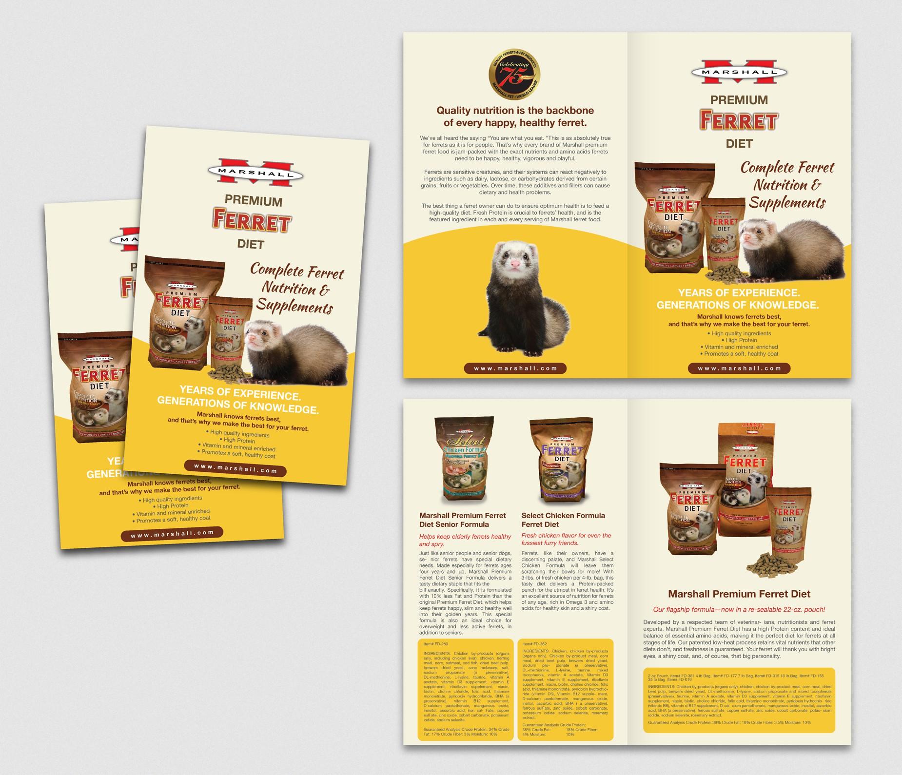 8 Page Ferret Diet Brochure