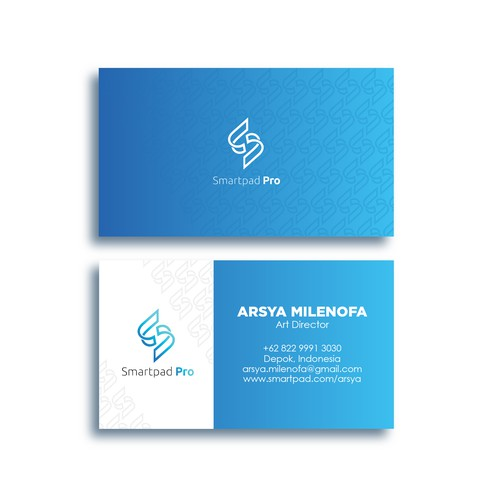 Business Card concept for Smartpad pro