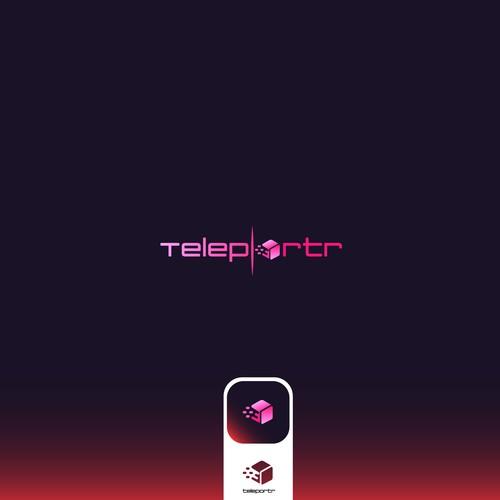 Create the logo for Teleportr - modern parcel deliveries.