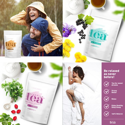 LIFESTYLE VISUALS for detox herbs TEAS