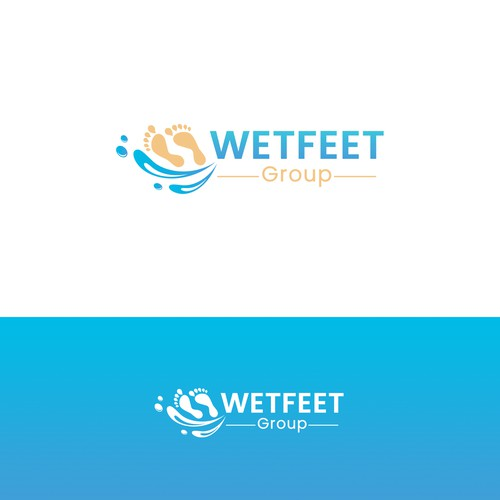 """WETFEET Group"" Logo"