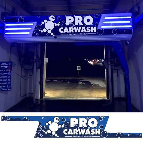Automatic Carwash Decal Concept